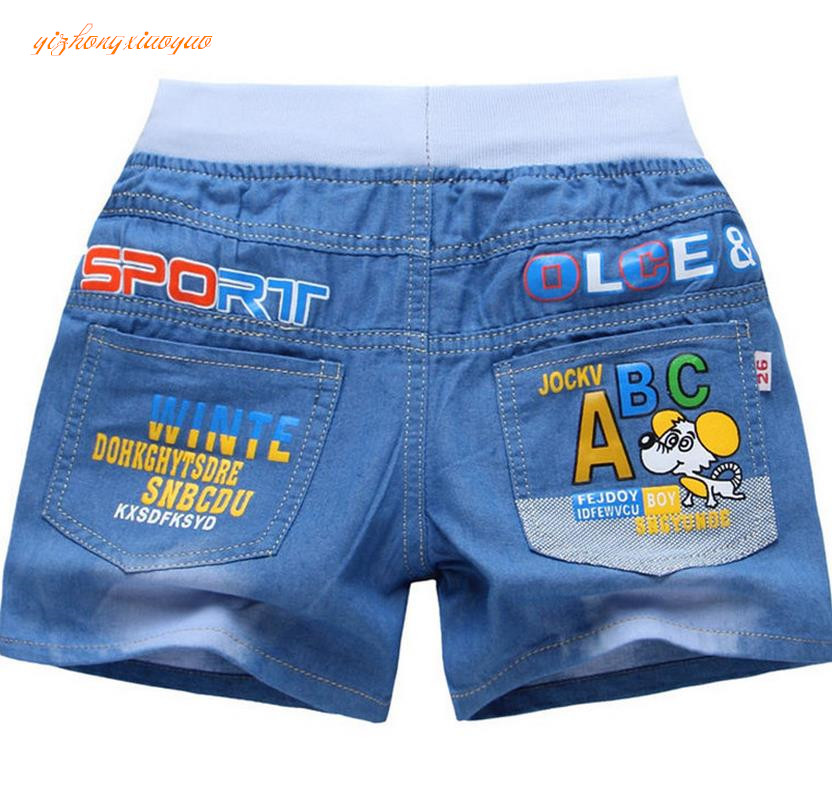 New 2017 Summr Shorts Baby Boys Denim Shorts Fashion Water washing Soft Summer Style High quality Children Jean Shorts