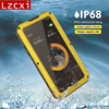 Armor Tough Rugged Metal Case For IPhone X Waterproof IP68 Shockproof Heavy Duty Hybrid Phone Cover