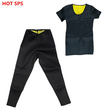 Hot Shapers Waist-Trimmer Slimming T-Shirt Women's Slimming Pants Hot Thermo Neoprene Sweat Sauna Body Shaper Slimming Underwear