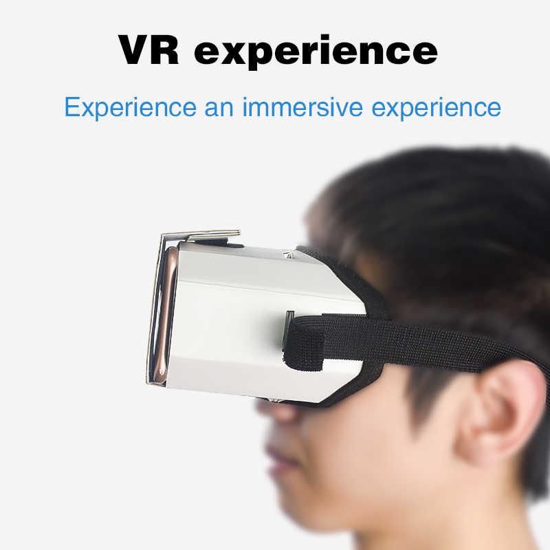 Данные лягушка DIY Портативные Очки виртуальной реальности Google Cardboard 3D очки VR коробка для смартфонов для Iphone X 7 8 VR
