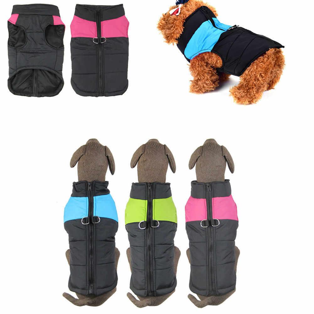Klassieke Kleine Medium Hond Winter Vest Puppy Gewatteerde Puffer Puffa Vest Jas Harnas Jas