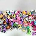 """30 unids/bolsa pequeña tienda de mascotas 2.4 """" LPS juguetes animales perro gato de la historieta figuras de acción Collection juega para los niños"""