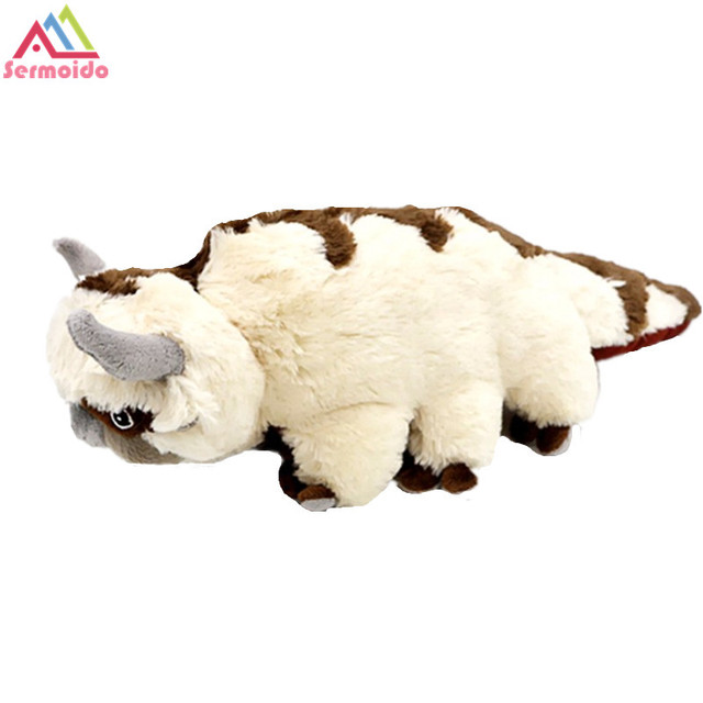 US $17 98 10% OFF|19'' The Last Airbender Resource Appa Avatar Stuffed  Animals Plush Doll Cow OX Toy Gift Kawaii Plush Toys Unicorn Pillow  Cattle-in