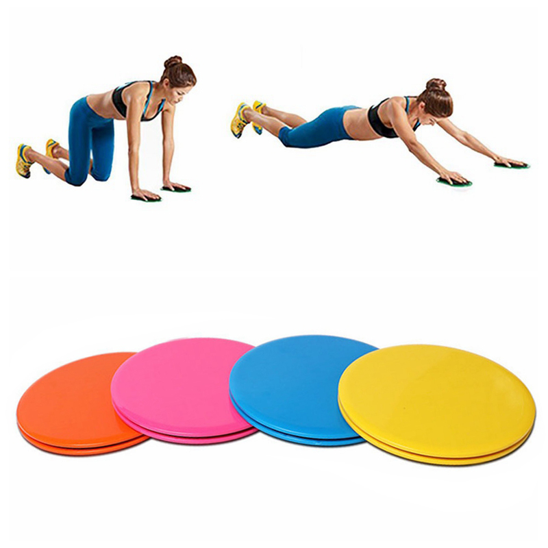Enthusiastic Gliding Discs Slider Fitness Disc Exercise Sliding Plate For Yoga Gym Abdominal Core Training Exercise Equipment 1 Pair 2pcs Accessories Fitness Equipments