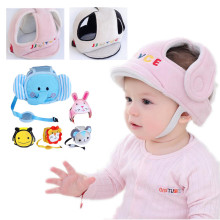 Детский защитный шлем для мальчиков и девочек, анти-столкновения, защитный шлем для младенцев, Безопасность и защита, мягкая шапка для прогулок, скидка cap40