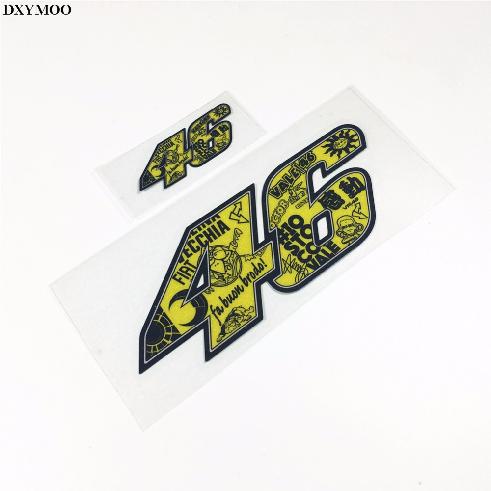 Car body sticker design eps - Pack Of 2pcs Car Styling Motorcycle Motorbike Helmet Car Whole Body Sticker Decals For Moto Gp