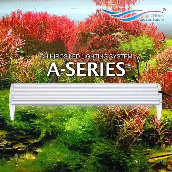 Chihiros, estilo ADA, Luz LED para crecimiento de plantas, serie A, mini nano, planta de agua para acuario, tanque de peces 8000k 2 uds. Bombilla de repuesto T5 tubos de luz LED G5 DC12V 6w 430mm 450mm 480mm 1ft tubo fluorescente de conductor incorporado