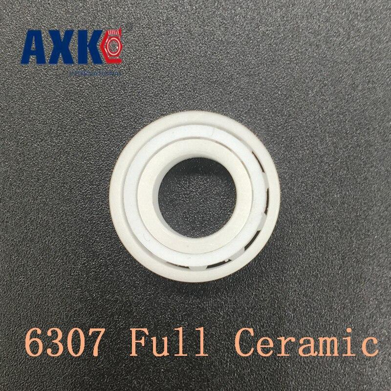 где купить 2018 Rolamentos Rodamientos Axk 6307 Full Ceramic Bearing ( 1 Pc ) 35*80*21 Mm Zro2 Material 6307ce All Zirconia Ball Bearings дешево