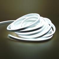 1-20 м гибкий светодиодный светильник для полосы переменного тока 220 в 240 В SMD 2835 светодиодная неоновая трубка Водонепроницаемый светодиодный ...