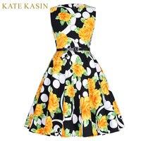 Kate kasin comunione dress bambini poco fiore ragazza abiti per la cerimonia nuziale del partito di sera dell'abito di sfera stampa floreale abiti pageant