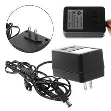 Штепсельная Вилка стандарта США, входная мощность переменного тока 110 240 В, 60 Гц, выход 9 В постоянного тока, 850мА, Кабель адаптер для NES Super Nintendo SNES Sega Genesis