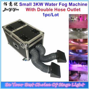 Image 1 - 1x New 3000W Double Outlet Water Fog Machine 3KW Water Base Low Ground Fog Smoke Machine With Double Hose For Wedding Party