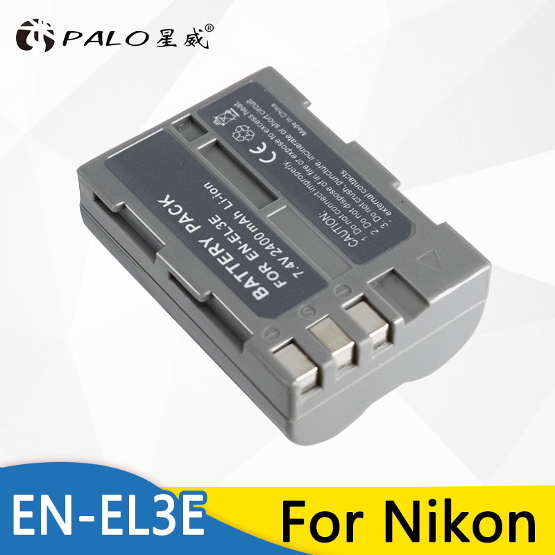 Palo EN EL3 EN-EL3E ENEL3E Pack de Bateria para Câmera Nikon D90 D80 D300 D300s D700 D200 D70 D50 D70s D100 d-100 D-300 D-70 D-90
