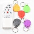 Handheld 4 Freqüência 125 khz 250 k 375 k 500 k RFID Copiadora/Duplicador/Cloner ID Reader & Writer & 5 pcs EM4305 T5577 Reescrita Tag