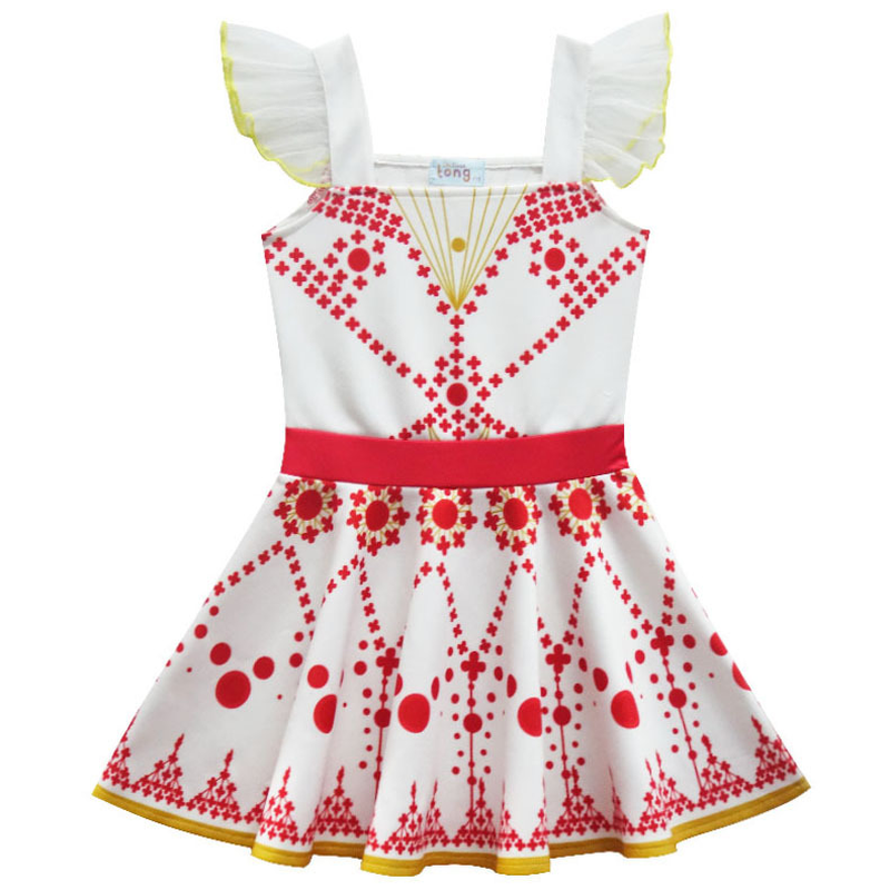 2021 New Movie Ballerina Felicie Cosplay Costume for Girls Party Clothes Halloween Costume for Kids dancing christmas dress girl 4