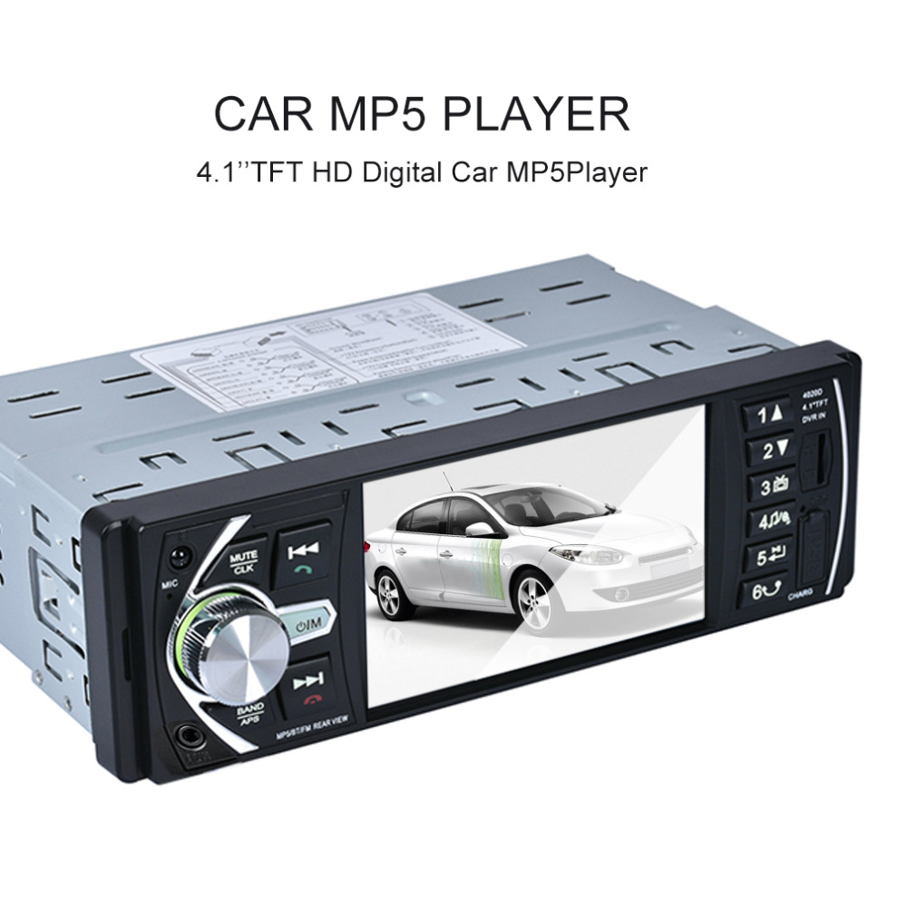 4 1 Inch Car MP3 MP5 Player Bluetooth Car Radio Audio Stereo High definition LCD Display