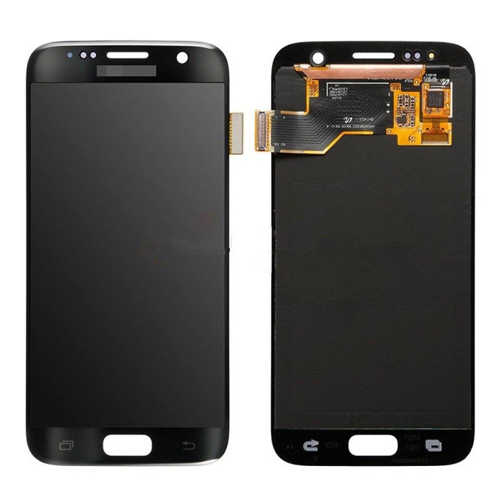 Nouveau pour écran LCD d'origine + écran tactile pour Galaxy S7/G9300/G930F/G930A/G930V réparation, remplacement, accessoires