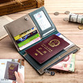 100% натуральная кожа блокнот планировщик ручной работы Путешествия Пуля журнал оливковый паспорт повестки дня альбом дневник винтажные кан...