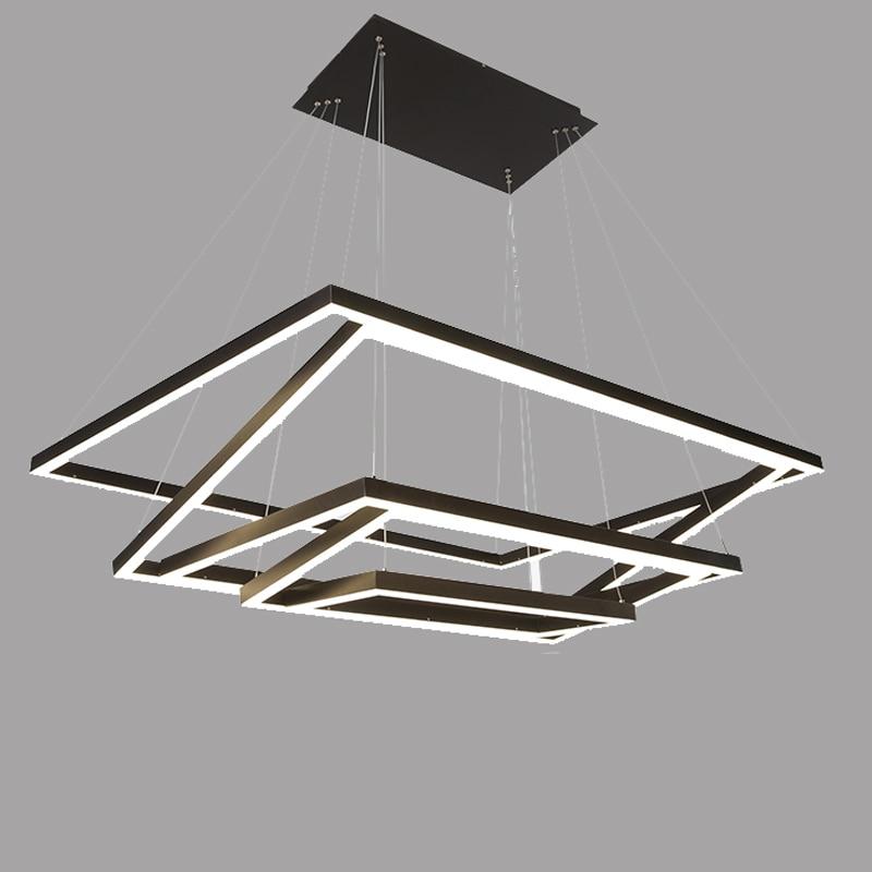 Modern LED chandelier acrylic lights lamp for dinning room living room Cristal Lustre Chandelier Lighting