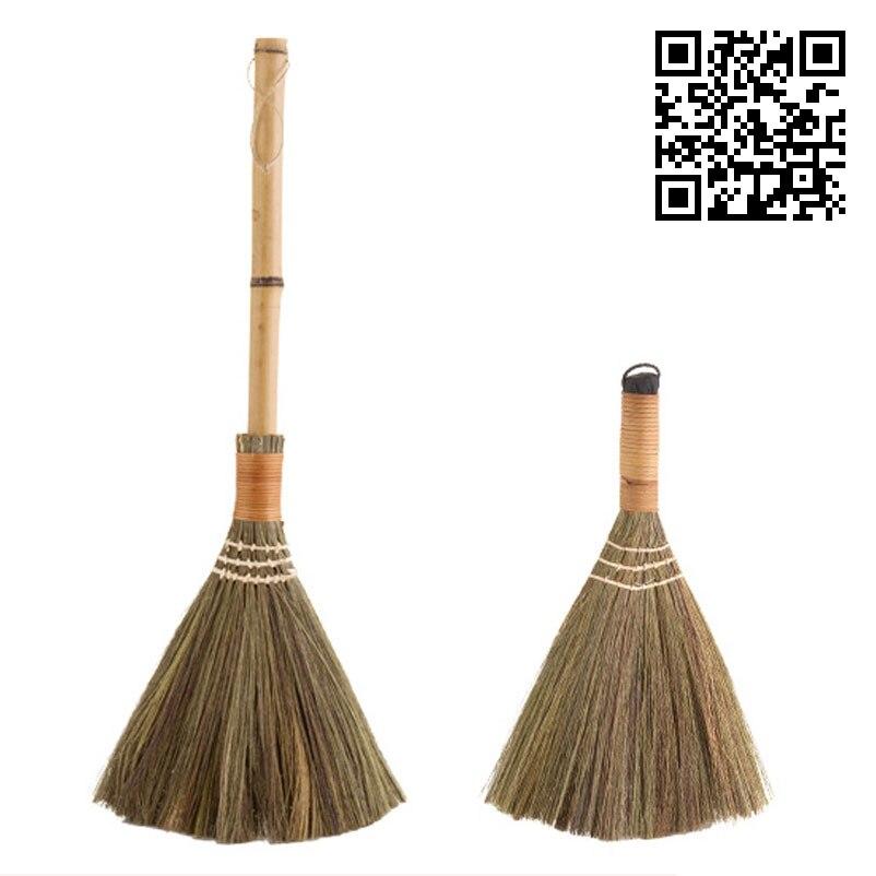 vanzlife wood floor sweeping broom soft hair fur household floor cleaning tools manual archaize broom sweeper(China)