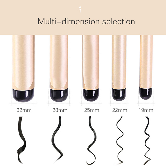 TINTON LIFE Electric Professional Ceramic Hair Curler Lcd Curling Iron Roller Curls Wand Waver Fashion Styling Tools Curling Iron