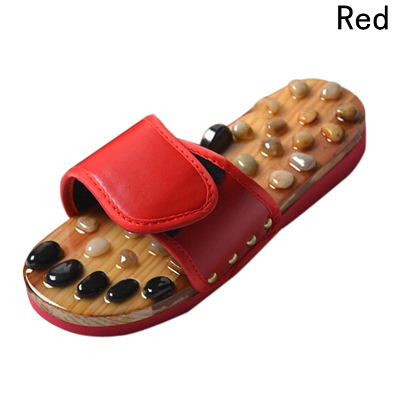 Wholesale Cobblestone Foot Massage Slippers,Acupoint Massage Health Shoes, Men and Women Home Lovers Slippers,Health Maintenance Slippers