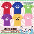 2016 nuevo Anime Osomatsu san Cosplay trajes camisetas Jyushimatsu Ichimatsu Karamatsu Todomatsu Choromatsu remata camisetas