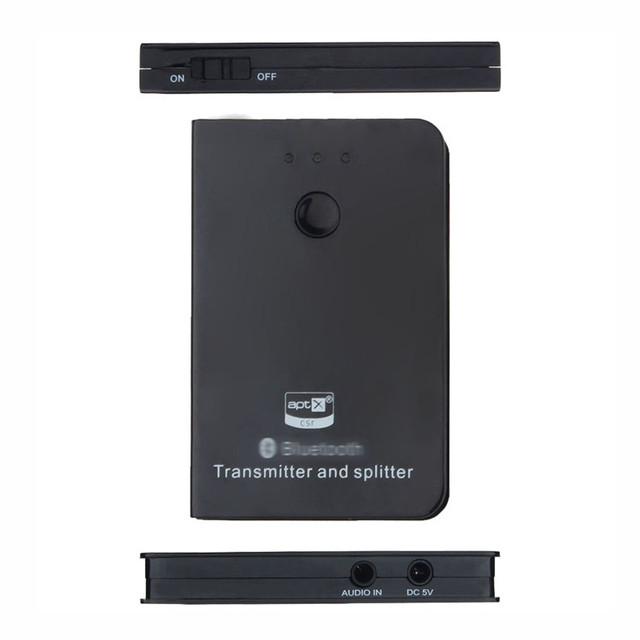 Mecall A2DP Bluetooth áudio e vídeo transmissor e Splitter para Tablet PC TV