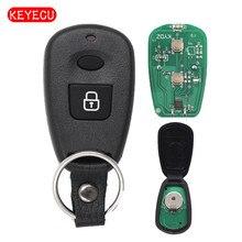 Keyecu дистанционного брелок 2 кнопки 315 мГц/433 мГц для Hyundai Santafe Elantra 2002-2006 идентификаторе fcc: osloka-510t