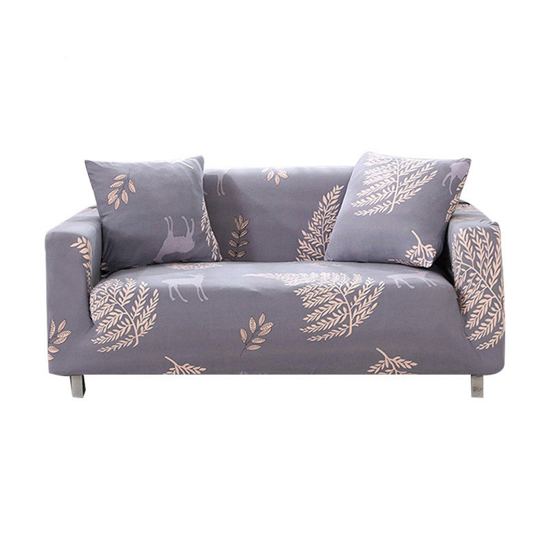 Sofa Cover for Living Room Sectional Sofa Slipcover Elastic Full All-inclusive Sofa Furniture Cover Single/Two/Three/Four-seater