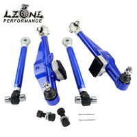LZONE Racing S14 Adj. Front Lower Control Arm Blue Only (Pair) FOR Nissan JR9832