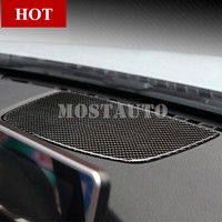 For BMW 3 Series 4 Series F30 F31 F32 F34 Carbon Fiber Center Dashboard Panel Cover 2013 2018 1pcs
