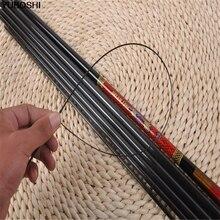 YUBOSHI Carp Fishing Rod Telescopic Fishing Rod Carbon Fiber Superhard 3.6m 4.5m 5.4m 6.3m 7.2m Stream Lake River