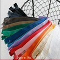 15pcs/lot Diy handmade quilts patchwork short nylon zipper zip for small bag trousers 20 cm