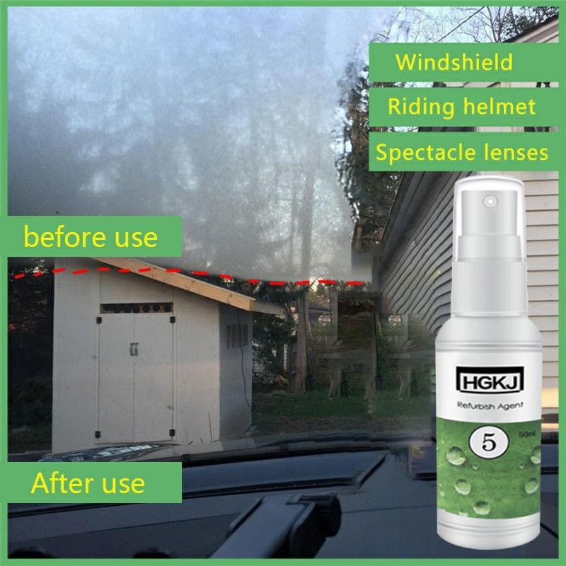 Car Accessorie 1PC 50ml Anti-fog Agent Waterproof Rainproof Anit-fog spray for front Window Glass Anti Mist goggles Car Cleaning(China)