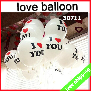 Aliexpress buy free shipping 50pcs romantic balloon sweet free shipping 50pcs romantic balloon sweet heart will you marry me i love u valentine gift negle Image collections