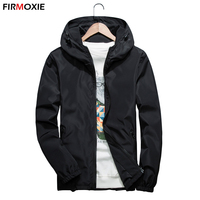 New 2017 Autumn Spring Jackets Men Bomber Jacket Fashion Casual Coats Windbreaker Hooded Jacket Size M