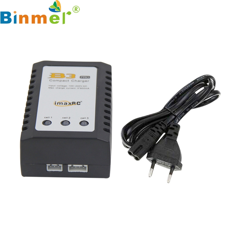 iMaxRC iMax B3 Pro Compact 2S 3S Lipo Balance Battery Charger For RC Helicopter BINMER Futural Digital Hot Selling AP17