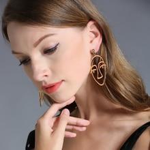 Earrings Pattern Female Dangle