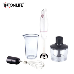 TINTON LIFE Handheld Mixer Multi-functional Stirrer Immersion Hand Blender Set Mini Practical Food Mixer For Kitchen
