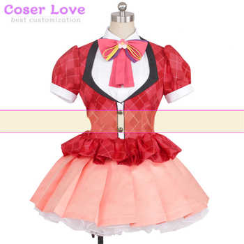 Zombie Land Saga Yugiri coat shirt skirt Cosplay Carnaval Costume New Years Christmas Costume - DISCOUNT ITEM  15% OFF All Category