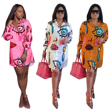 African Clothing Printed Dress Fashion Personality Casual Women's Clothing African Dresses for Women