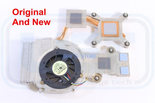 100% Original Notebook CPU Cooler Heatsink And Fan For DELL Studio 1535 1536 For AMD CPU FBFX6013010 DP/N 0M240C DFS541305MH0T