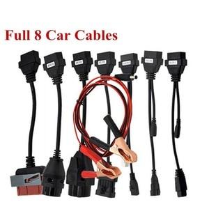 Image 2 - Câble adaptateur pour delphis, outil de Diagnostic de voiture, ensemble complet 8 câbles pour TCS Pro, vd DS150E, OBD2, OBDII