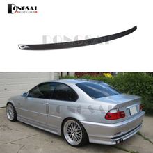 E46 Spoiler for BMW 3 Series Carbon Fiber M3 Style Trunk Wings Car Styling 1996-2004