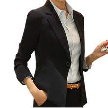 2020 New Fashion Spring Women Blazers Long Sleeve Work Wear Casual Female