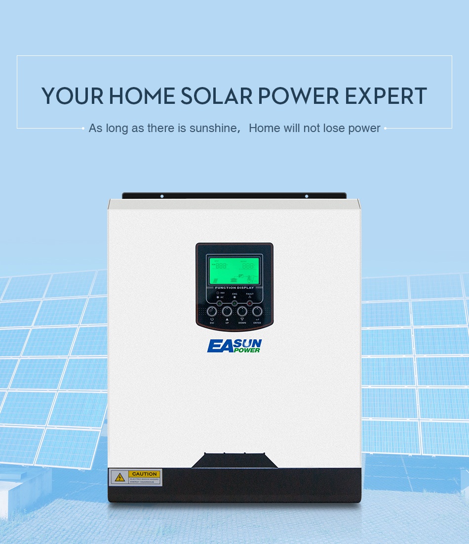 Easun Power 3000 Watt Solar Inverter 220 V 40a Mppt 3kva Reine Sinus Ac Circuit Sg3524 230v Invertor Ups 12v 3000w 220v Pure Sine Wave 50hz Off Grid