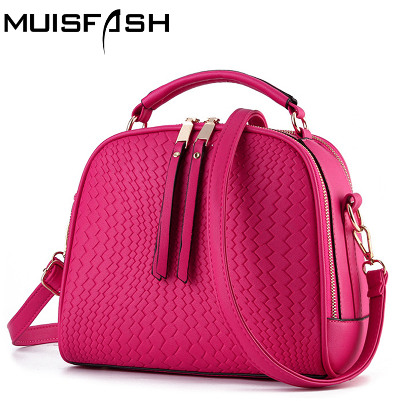 2017 fashion women leather handbags famous brand designer women bags messenger bags shoulder bag small women totes bolsas LS1065 bailar fashion women shoulder handbags messenger bags button rivets totes high quality pu leather crossbody famous brand bag