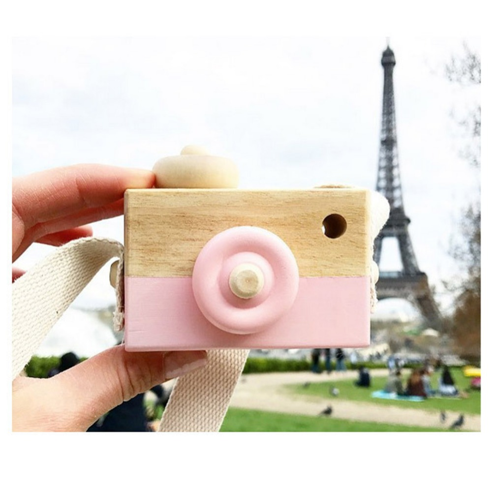 Cute Wooden Camera Toys For Baby Kids Room Decor Furnishing Articles Child Birthday Gifts Nordic European Style Stamp Cute Wooden Camera Toys For Baby Kids Room Decor Furnishing Articles Child Birthday Gifts Nordic European Style Stamp