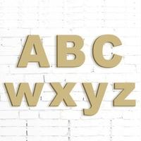 Freies verschiffen Gold Glitter Unlackiert Mdf Wand Buchstaben hochzeit dekoration MR & MRS briefe größe 15 cm